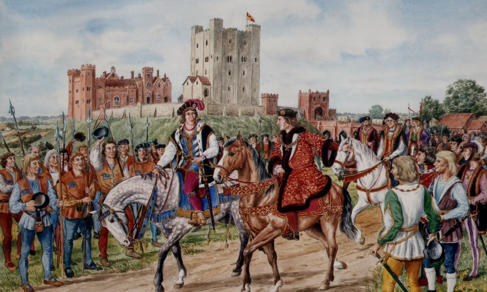 Hedingham's Tudor Castle Restoration Project