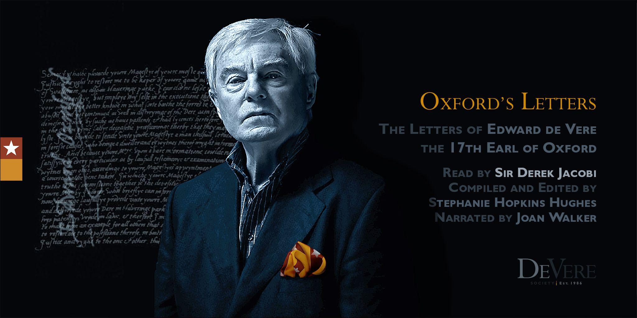 Oxford's Letters read by Sir Derek Jacobi