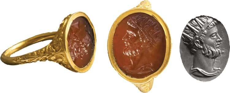 Elizabethan Gold Ring sells for £46,000