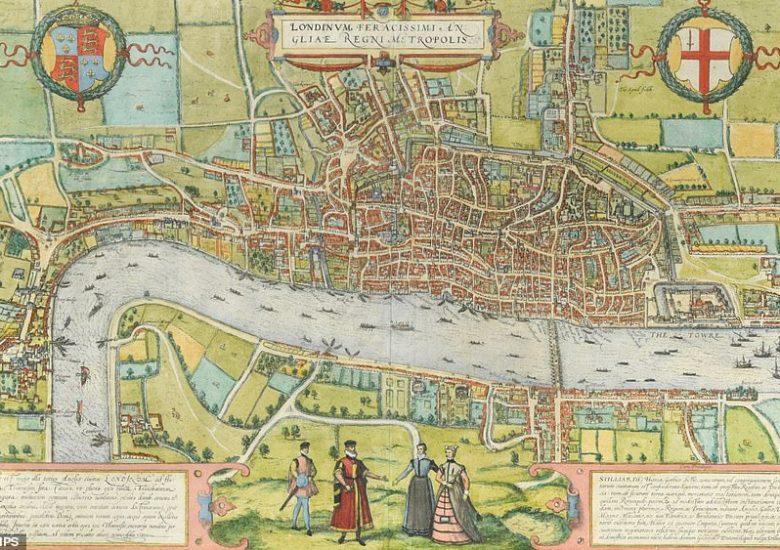 Earliest Elizabethan map of London found